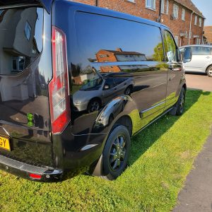 Ford Transit Paint Correction