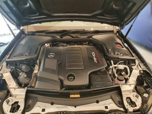 Mercedes E53 Engine Bay