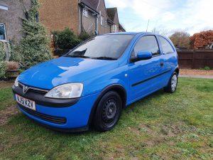 Vauxhall Corsa Paint Correction